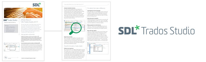What's new in SDL Trados Studio 2017